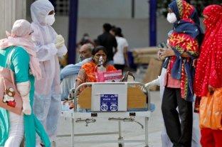 India registró una importante baja en las cifras de contagios