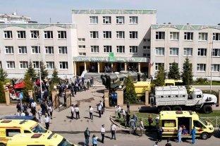 Un tiroteo en una escuela en Rusia deja al menos 11 muertos