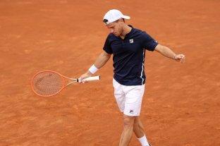 """El """"Peque"""" Schwartzman fue eliminado en el Masters 1000 de Roma"""