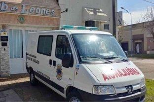 Tras 55 años, el Club de Leones deja de prestar el servicio de ambulancia en San Jerónimo Norte