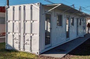 Habilitaron un container como consultorio del hospital de Gualeguay