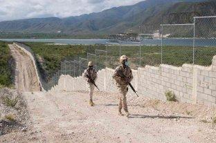 República Dominicana levantó la valla de alambre en la frontera con Haití