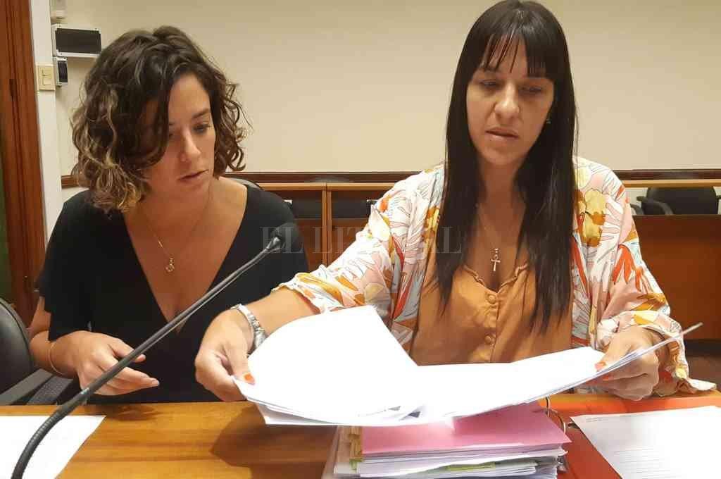 Las cuatro investigaciones estuvieron a cargo de las fiscales de Gefas, María Celeste Minniti y Alejandra Del Rio Ayala. Crédito: Archivo El Litoral