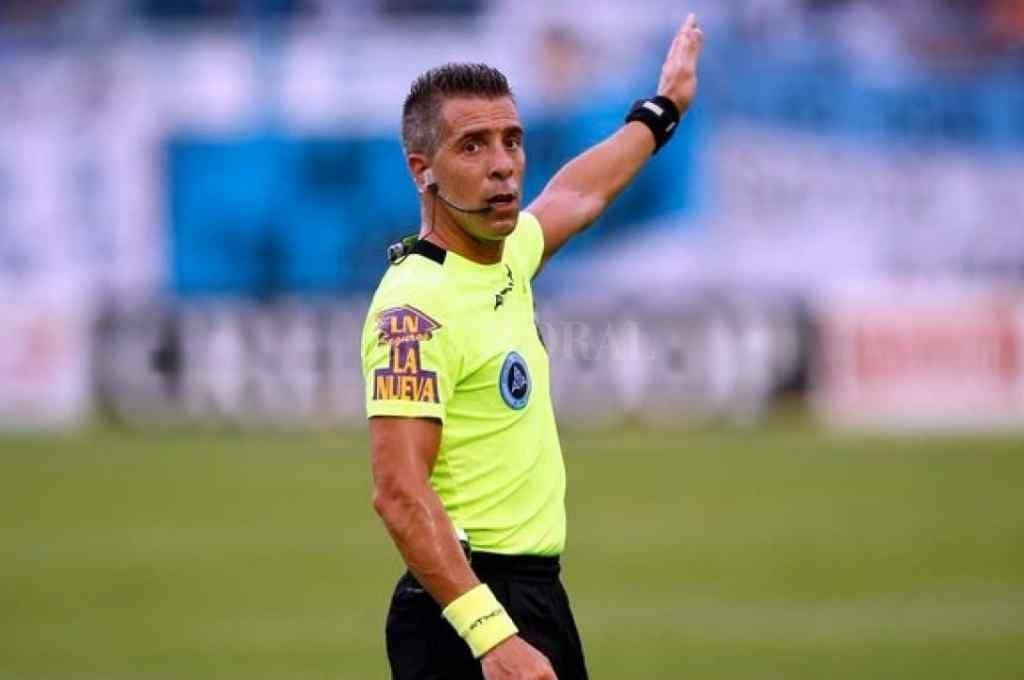 Hernán Mastrángelo será el árbitro para Colón - Talleres Crédito: Gentileza