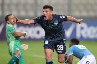 Con gol de Chancalay, Racing ganó frente a Sporting Cristal y puso un pie en octavos de final