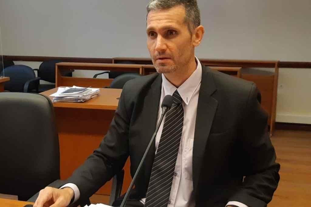 El fiscal Marcelo Nessier.   Crédito: Archivo El Litoral