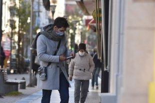 Miércoles frío y despejado en la ciudad de Santa Fe
