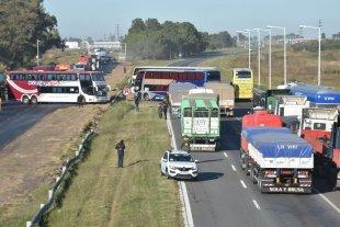Por el momento no hay cortes de tránsito en la Autopista Santa Fe - Rosario