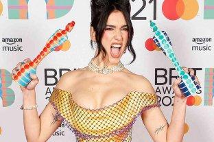 Dua Lipa, la gran ganadora en los Brit Awards