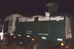 Decomisaron 35 toneladas de soja y maíz en Corrientes