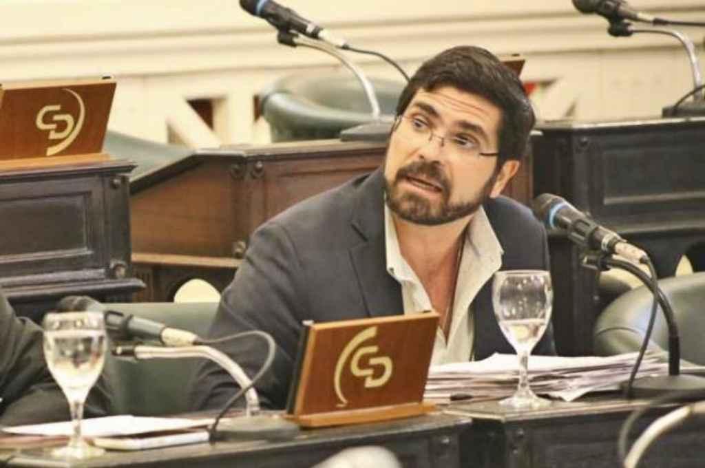 Martín Barrionuevo, senador provincial de Corrientes. Crédito: Gentileza