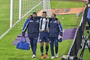 Se complicó la lesión de Diego Valoyes y no llegaría para enfrentar a Colón
