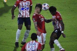River rescató un empate ante Junior con suplentes