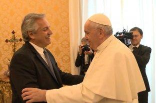 Los regalos de Fernández al Papa: productos orgánicos, medalla de Malvinas y un libro de Discépolo