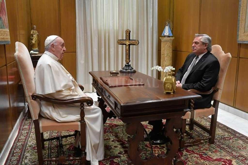Alberto Fernández se reunió con el Papa Francisco -  -