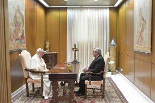 """Fernández: """"El papa Francisco tiene una gran predisposición para ayudarnos"""""""