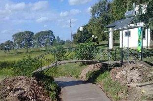 Humboldt: renuevan el Circuito Aeróbico para evitar la erosión en épocas de grandes lluvias