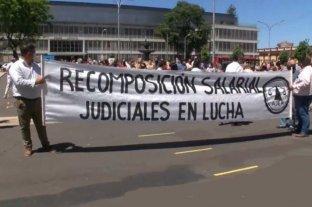 Empleados judiciales de Entre Ríos vuelven a parar sus actividades