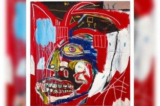 Arte: un cuadro de Basquiat fue vendido en 93,1 millones de dólares y se convirtió en su segunda obra más cara
