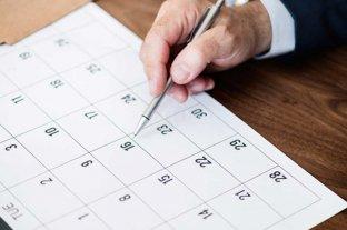 Cómo queda el calendario de feriados en lo que resta del 2021