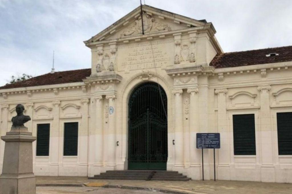 Colegio Secundario Manuel Belgrano de la ciudad de Corrientes Crédito: Gentileza