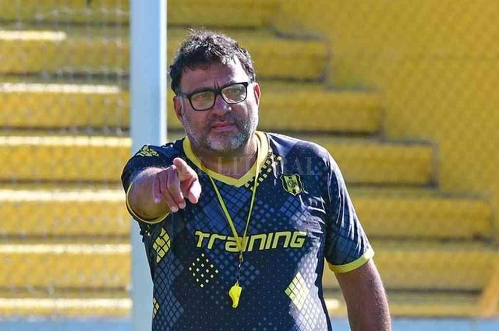 Ricardo Pancaldo, en pleno trabajo. Crédito: Gentileza