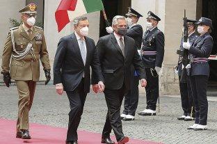 Deuda con el FMI: Alberto Fernández recibió el apoyo de Mario Draghi, primer ministro italiano