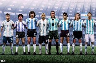 """Polémica elección de FIFA de los 16 """"íconos"""" de la selección argentina"""