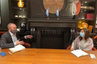 Martín Guzmán se reunió con la subdirectora del Departamento del Hemisferio Occidental del FMI