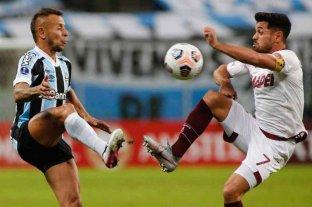 Lanús sufrió una dura derrota frente a Gremio en Brasil