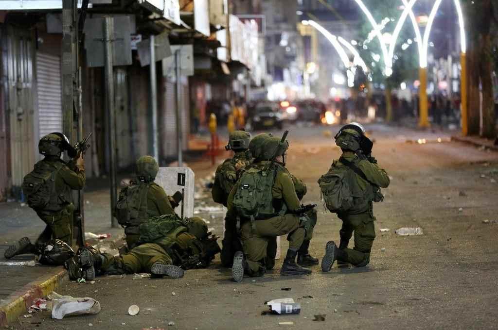 El ejército de Israel busca reforzarse. Está al borde de una intervención terrestre en Gaza.    Crédito: Gentileza