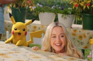 "Katy Perry presentó ""Electric"", su nuevo tema musical junto a Pikachu"