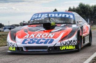 Guillermo Ortelli probó su Chevrolet