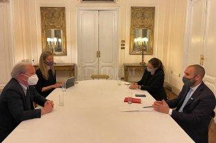 Guzmán se reunió con el Director Gerente de operaciones del Banco Mundial