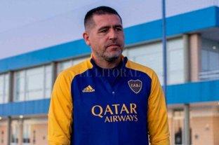 Riquelme le hizo un particular pedido al plantel de Boca en la previa del Superclásico