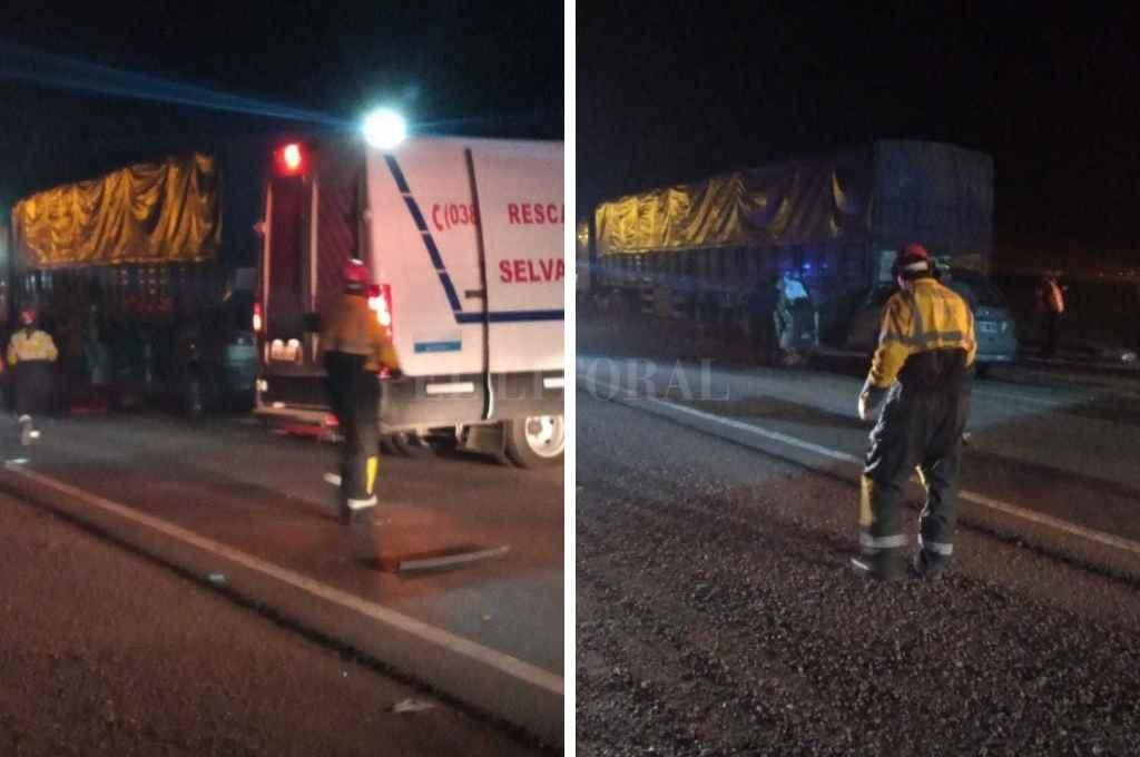 Accidente fatal en la Ruta 34, límite entre Selva y Ceres. Crédito: El Litoral