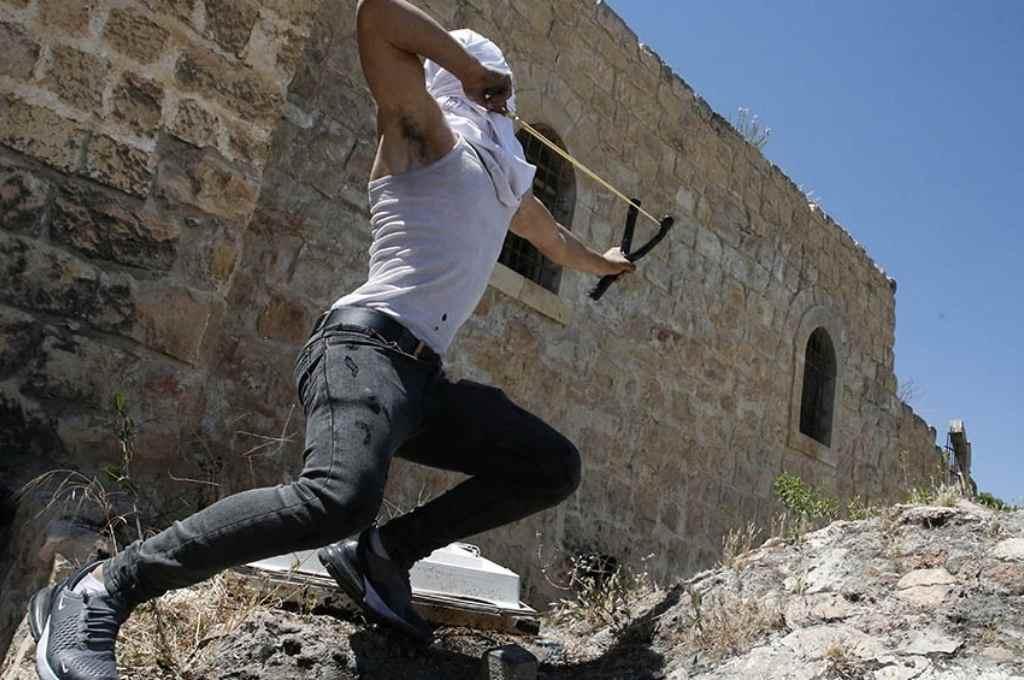 Rebelión palestina. Analistas internacionales no dudan en calificar a los acontecimientos como una nueva Intifada.     Crédito: Gentileza