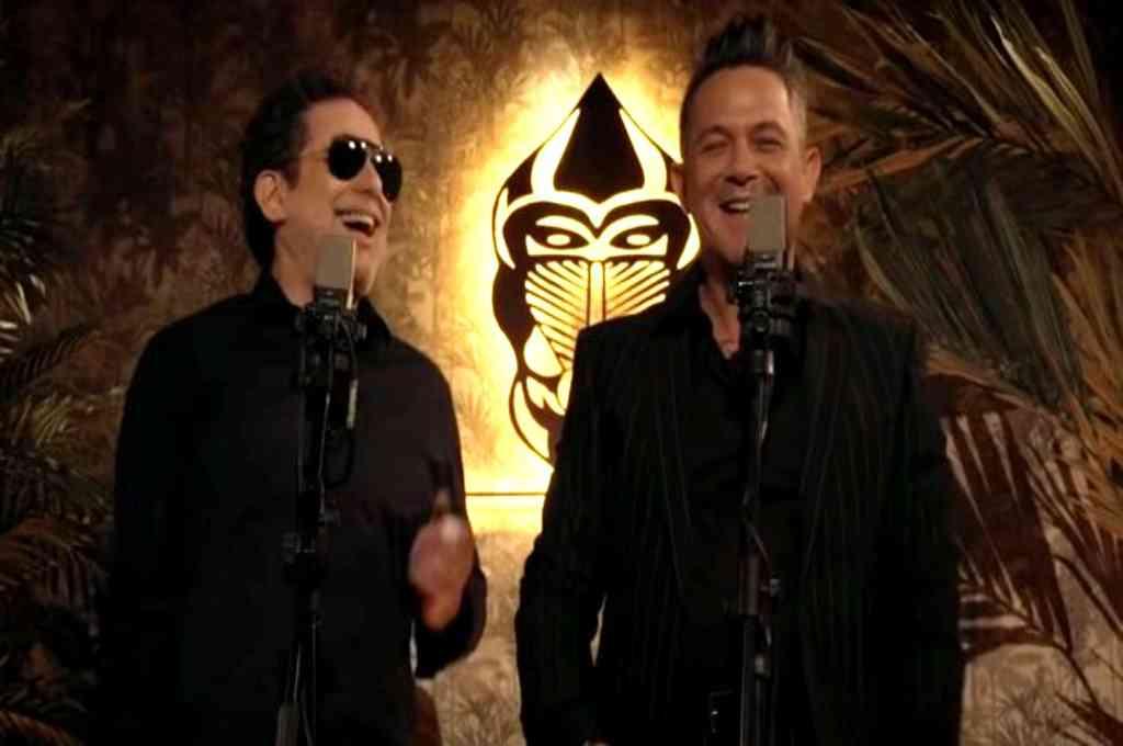 Calamaro y Sanz, en la tercera canción que el argentino versiona para su próximo álbum. Crédito: Captura de video