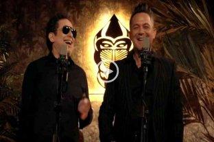 """Andrés Calamaro y Alejandro Sanz lanzaron una nueva versión de """"Flaca"""" - Calamaro y Sanz, en la tercera canción que el argentino versiona para su próximo álbum."""