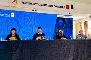 Marcos Cleri presidió el Congreso del Partido Justicialista de la provincia de Santa Fe