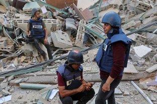 El ataque israelí en Gaza destruyó oficinas de las agencias de prensa AP y Al Jazeera