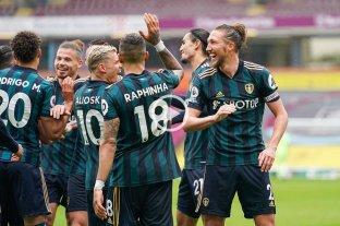 Leeds goleó y se ilusiona con entrar a la Europa League