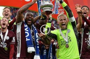 Leicester City derrotó a Chelsea y conquistó FA Cup por primera vez en su historia