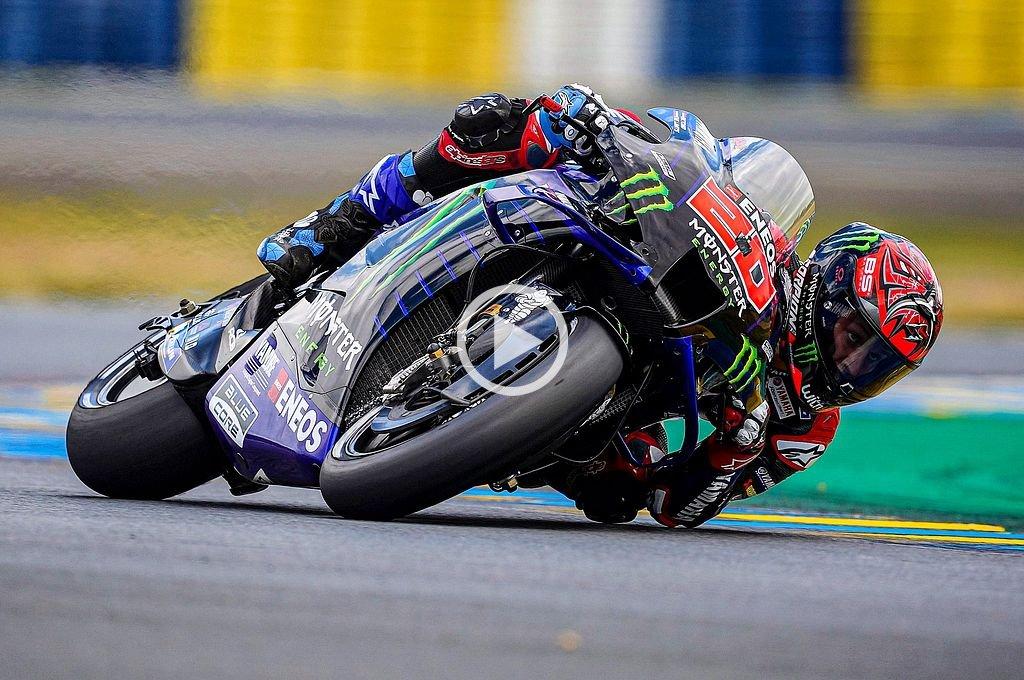 Moto GP: el francés Quartararo consiguió su cuarta pole de la temporada - Fabio Qartararo. -