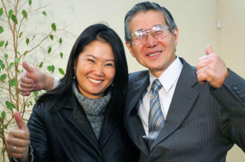 Keiko y Alberto Fujimori Crédito: Captura de pantalla