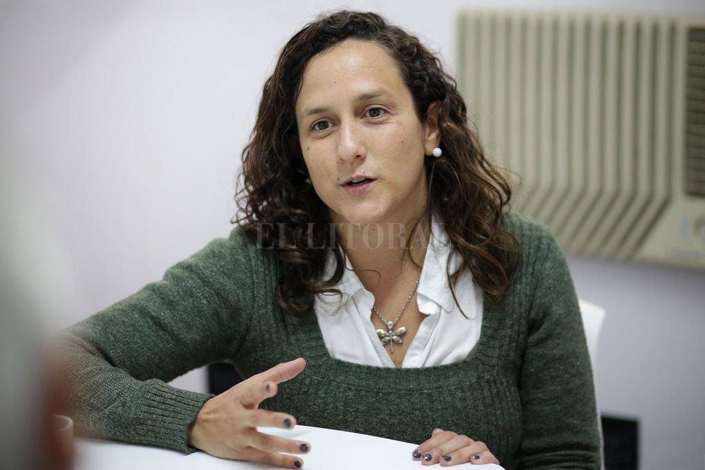 Mondino resalta que el socialismo de La Capital llega a un cargo de relevancia en la conducción del PS. Crédito: Pablo Aguirre