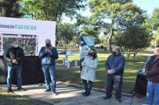 Presentaron el proyecto para remodelar el sector norte de la Plaza Central