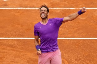 Nadal superó a Djokovic y ganó el Masters 1000 de Roma