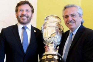 """Alberto Fernández habló sobre la organización de la Copa América y afirmó que será """"para la TV"""""""