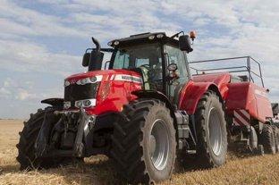 Se patentaron 566 tractores y cosechadoras